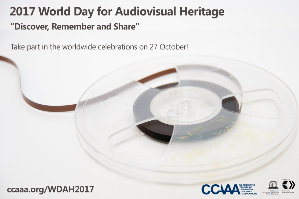 Ccaaa2017 World Day For Audiovisual Heritage