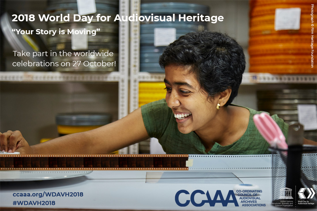2018 World Day for Audiovisual Heritage